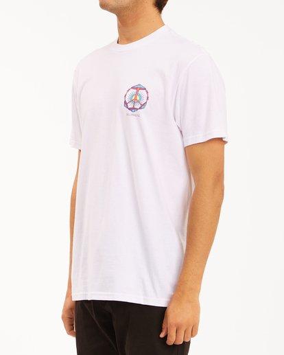 1 Shroom Peace Short Sleeve T-Shirt White ABYZT00615 Billabong