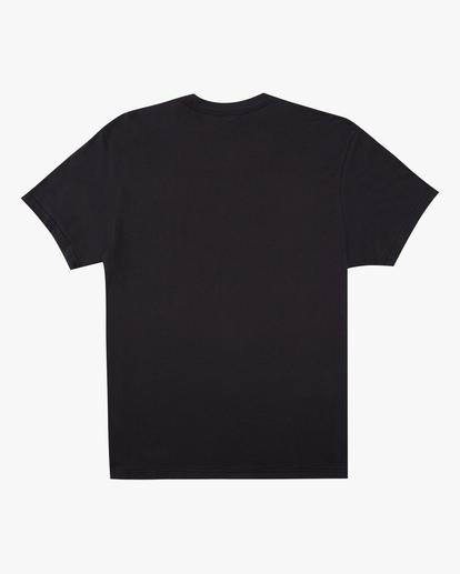 4 Cosmic Waves Short Sleeve T-Shirt Black ABYZT00616 Billabong
