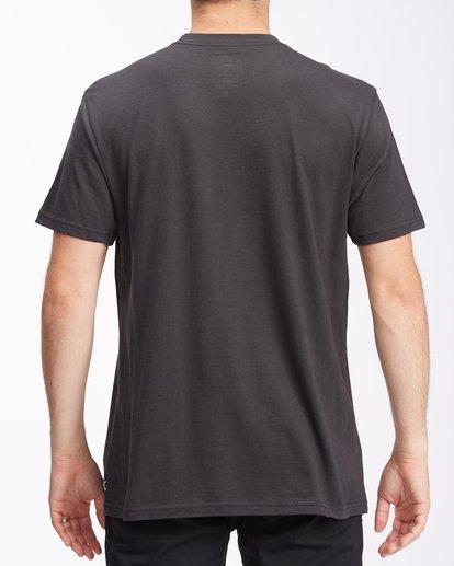 2 Cosmic Waves Short Sleeve T-Shirt Black ABYZT00616 Billabong