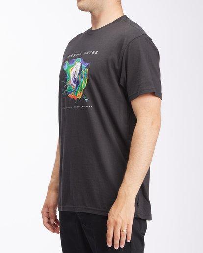 1 Cosmic Waves Short Sleeve T-Shirt Black ABYZT00616 Billabong