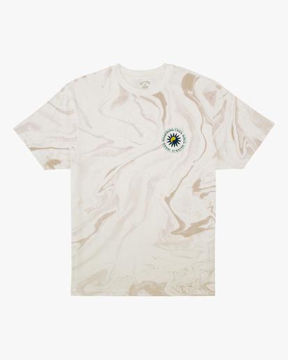 3 Magic Sun Short Sleeve T-Shirt White ABYZT00617 Billabong