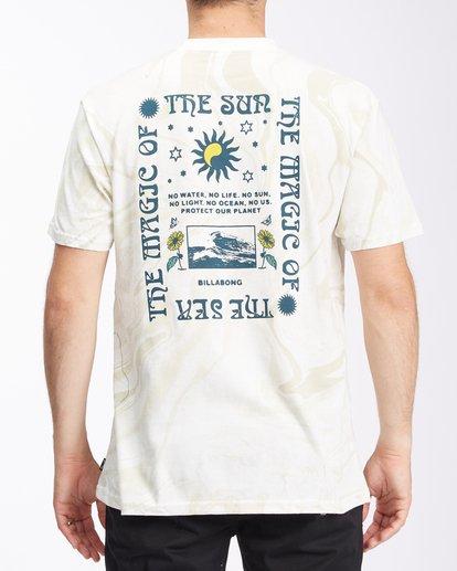2 Magic Sun Short Sleeve T-Shirt White ABYZT00617 Billabong