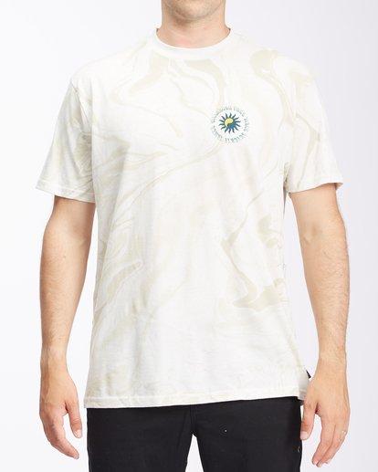 0 Magic Sun Short Sleeve T-Shirt White ABYZT00617 Billabong