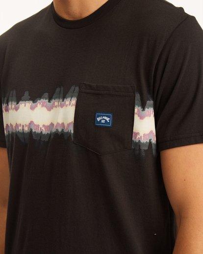 3 Spinner Pocket T-Shirt Black ABYZT00620 Billabong
