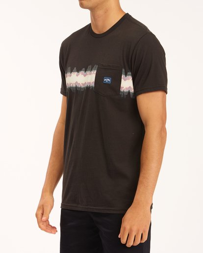 1 Spinner Pocket T-Shirt Black ABYZT00620 Billabong