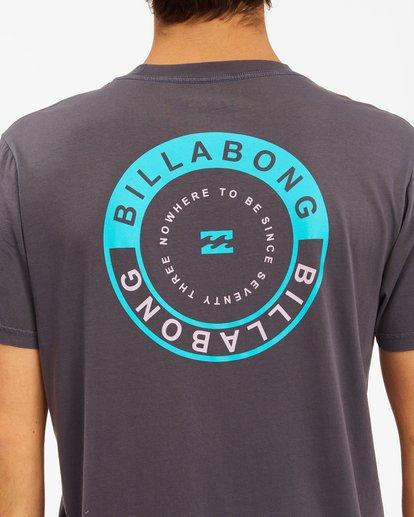 3 Rocker Wave Washed Short Sleeve T-Shirt White ABYZT00621 Billabong