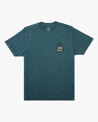 3 Lounge Wave Washed Short Sleeve T-Shirt Orange ABYZT00622 Billabong