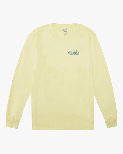 4 Lounge Long Sleeve T-Shirt Yellow ABYZT00625 Billabong