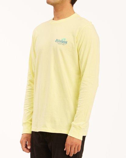 1 Lounge Long Sleeve T-Shirt Yellow ABYZT00625 Billabong