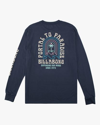 6 Portal Long Sleeve T-Shirt Blue ABYZT00627 Billabong