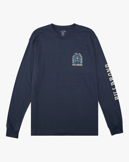 5 Portal Long Sleeve T-Shirt Blue ABYZT00627 Billabong