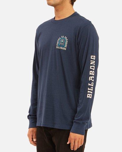 1 Portal Long Sleeve T-Shirt Blue ABYZT00627 Billabong