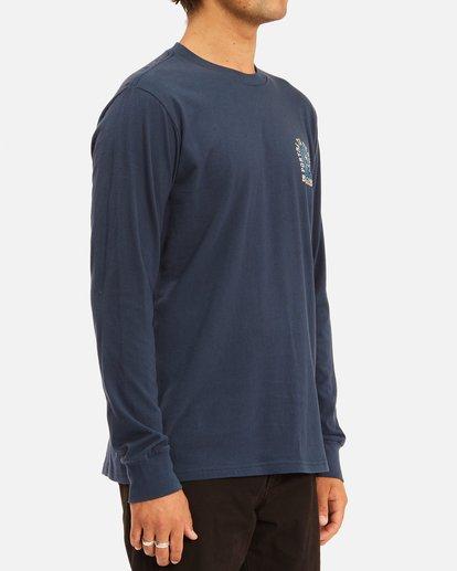 2 Portal Long Sleeve T-Shirt Blue ABYZT00627 Billabong