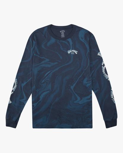 5 Marble Arch Long Sleeve T-Shirt Blue ABYZT00628 Billabong