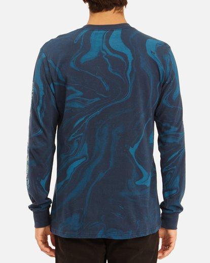 3 Marble Arch Long Sleeve T-Shirt Blue ABYZT00628 Billabong