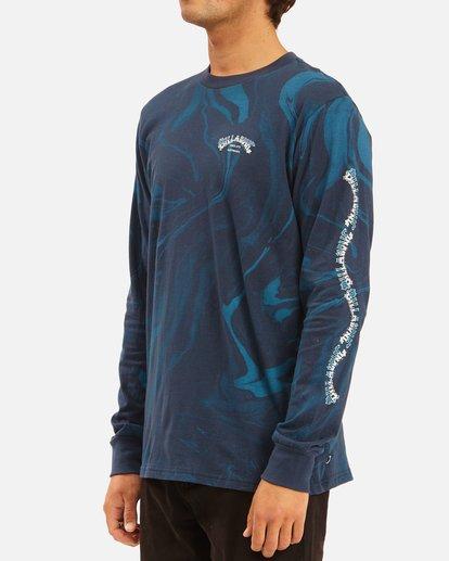 1 Marble Arch Long Sleeve T-Shirt Blue ABYZT00628 Billabong
