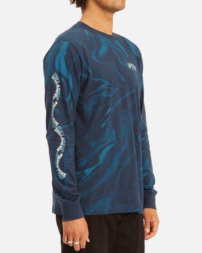 2 Marble Arch Long Sleeve T-Shirt Blue ABYZT00628 Billabong