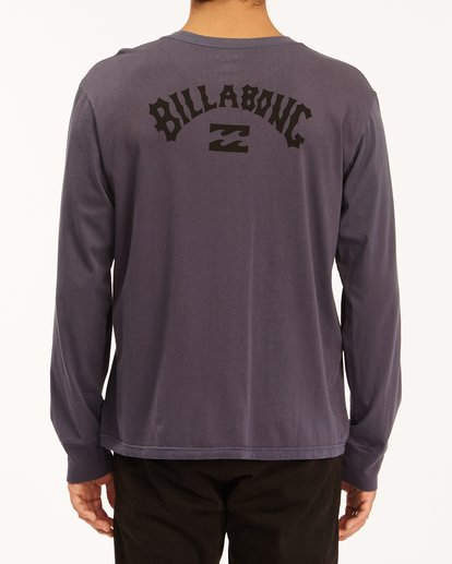 2 Archwave Wave Washed Long Sleeve T-Shirt White ABYZT00629 Billabong