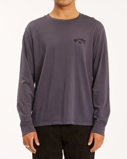 0 Archwave Wave Washed Long Sleeve T-Shirt White ABYZT00629 Billabong