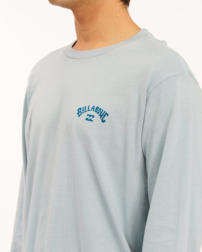 4 Archwave Wave Washed Long Sleeve T-Shirt Orange ABYZT00629 Billabong