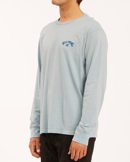 1 Archwave Wave Washed Long Sleeve T-Shirt Orange ABYZT00629 Billabong