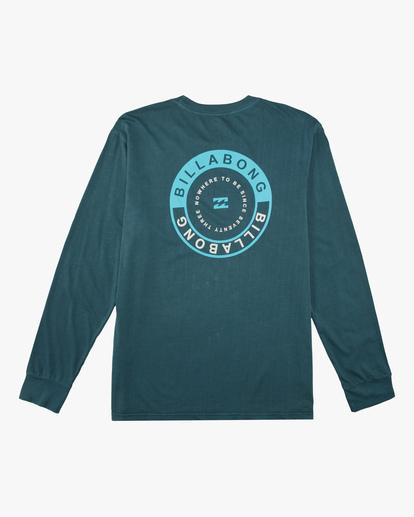 6 Rocker Wave Washed Long Sleeve T-Shirt Orange ABYZT00630 Billabong