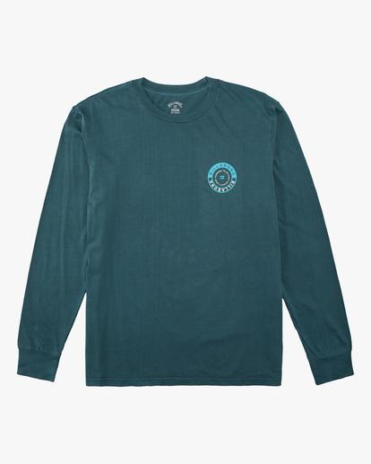 5 Rocker Wave Washed Long Sleeve T-Shirt Orange ABYZT00630 Billabong