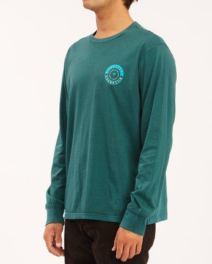 1 Rocker Wave Washed Long Sleeve T-Shirt Orange ABYZT00630 Billabong