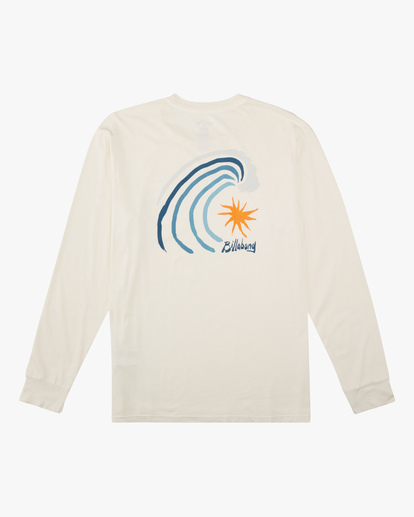 4 Peak Wave Washed Long Sleeve T-Shirt White ABYZT00631 Billabong