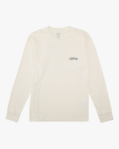 3 Peak Wave Washed Long Sleeve T-Shirt White ABYZT00631 Billabong