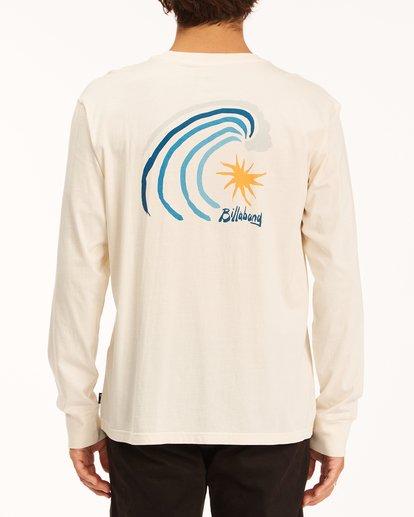 2 Peak Wave Washed Long Sleeve T-Shirt White ABYZT00631 Billabong