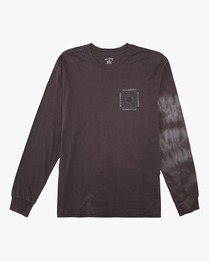 3 Sun Burn Tie-Dye Long Sleeve T-Shirt White ABYZT00632 Billabong