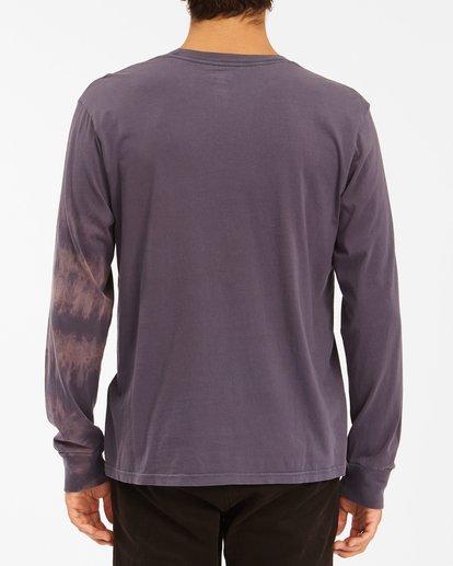 2 Sun Burn Tie-Dye Long Sleeve T-Shirt White ABYZT00632 Billabong