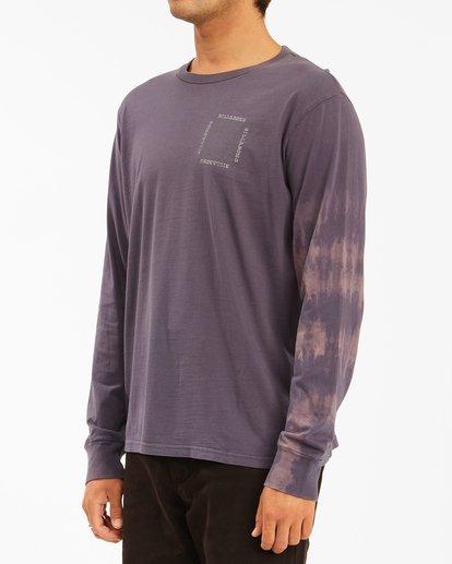1 Sun Burn Tie-Dye Long Sleeve T-Shirt White ABYZT00632 Billabong