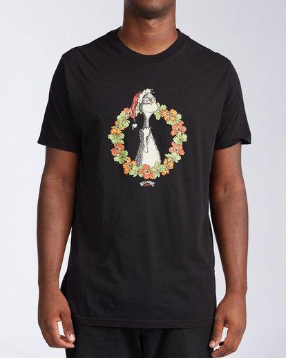 0 Aloha Grinch Short Sleeve T-Shirt Black ABYZT00635 Billabong