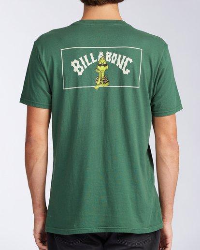 2 Mahalo Grinch Short Sleeve T-Shirt Grey ABYZT00636 Billabong