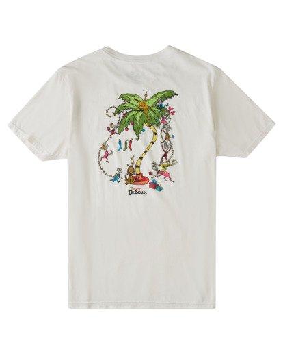 4 Palm Grinch Short Sleeve T-Shirt White ABYZT00637 Billabong
