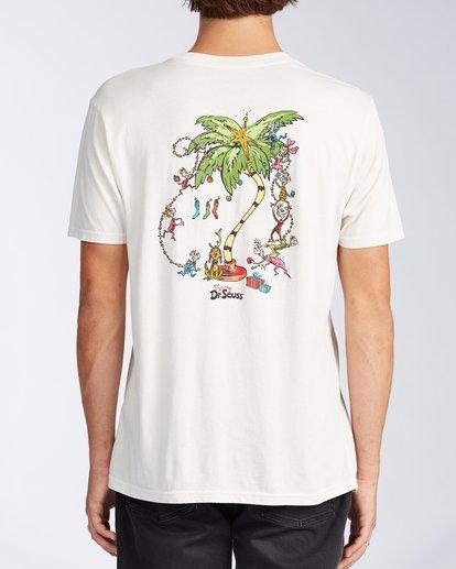 2 Palm Grinch Short Sleeve T-Shirt White ABYZT00637 Billabong