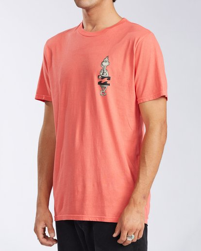 1 Shaka Grinch Short Sleeve T-Shirt Red ABYZT00638 Billabong