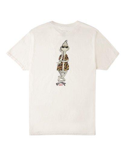 4 Vacay Grinch Short Sleeve T-Shirt White ABYZT00639 Billabong