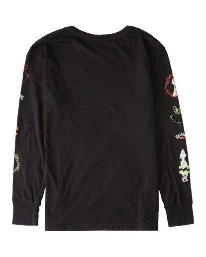 4 Grinchmas Vacation Long Sleeve T-Shirt Black ABYZT00640 Billabong
