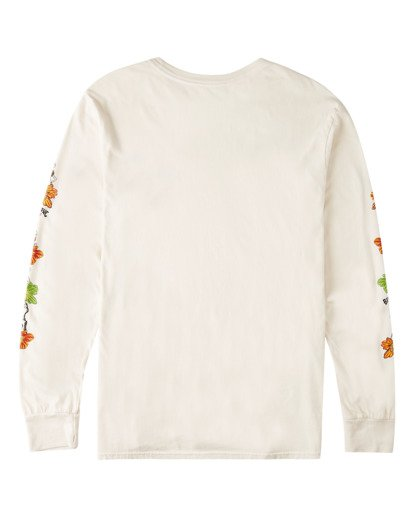 5 Lei Day Long Sleeve T-Shirt White ABYZT00641 Billabong