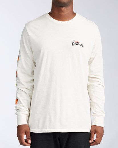 0 Lei Day Long Sleeve T-Shirt White ABYZT00641 Billabong