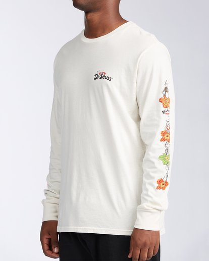 1 Lei Day Long Sleeve T-Shirt White ABYZT00641 Billabong
