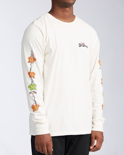 2 Lei Day Long Sleeve T-Shirt White ABYZT00641 Billabong