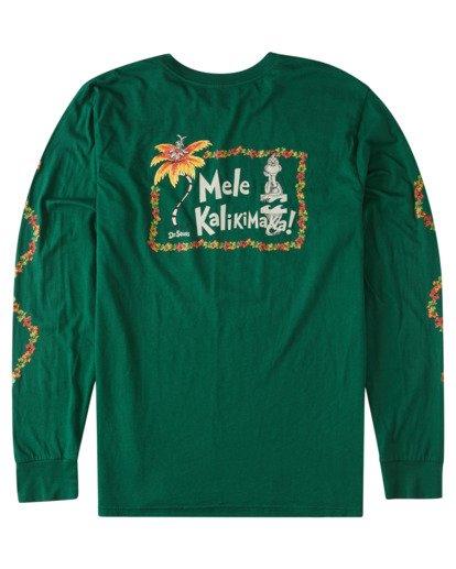 4 Mele Kalikimaka Long Sleeve T-Shirt Grey ABYZT00642 Billabong