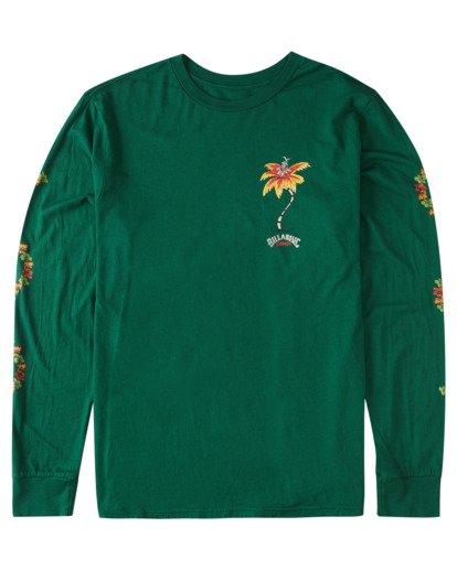 3 Mele Kalikimaka Long Sleeve T-Shirt Grey ABYZT00642 Billabong