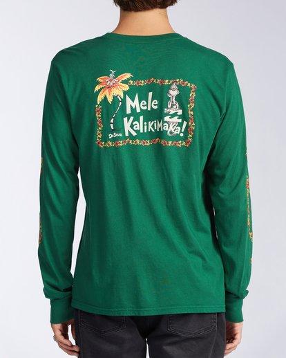 2 Mele Kalikimaka Long Sleeve T-Shirt Grey ABYZT00642 Billabong