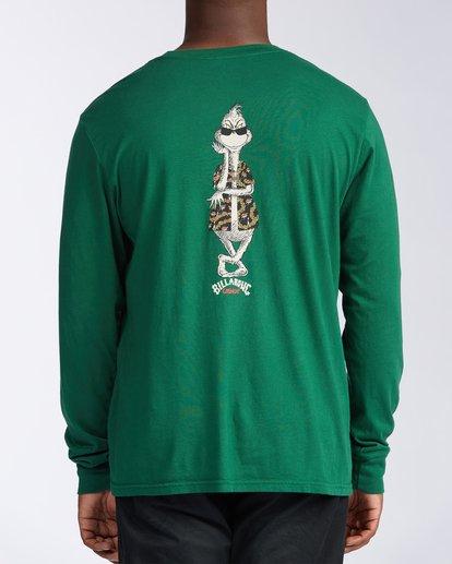 2 Vacay Grinch Long Sleeve T-Shirt Grey ABYZT00643 Billabong