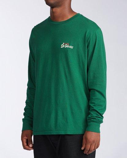1 Vacay Grinch Long Sleeve T-Shirt Grey ABYZT00643 Billabong